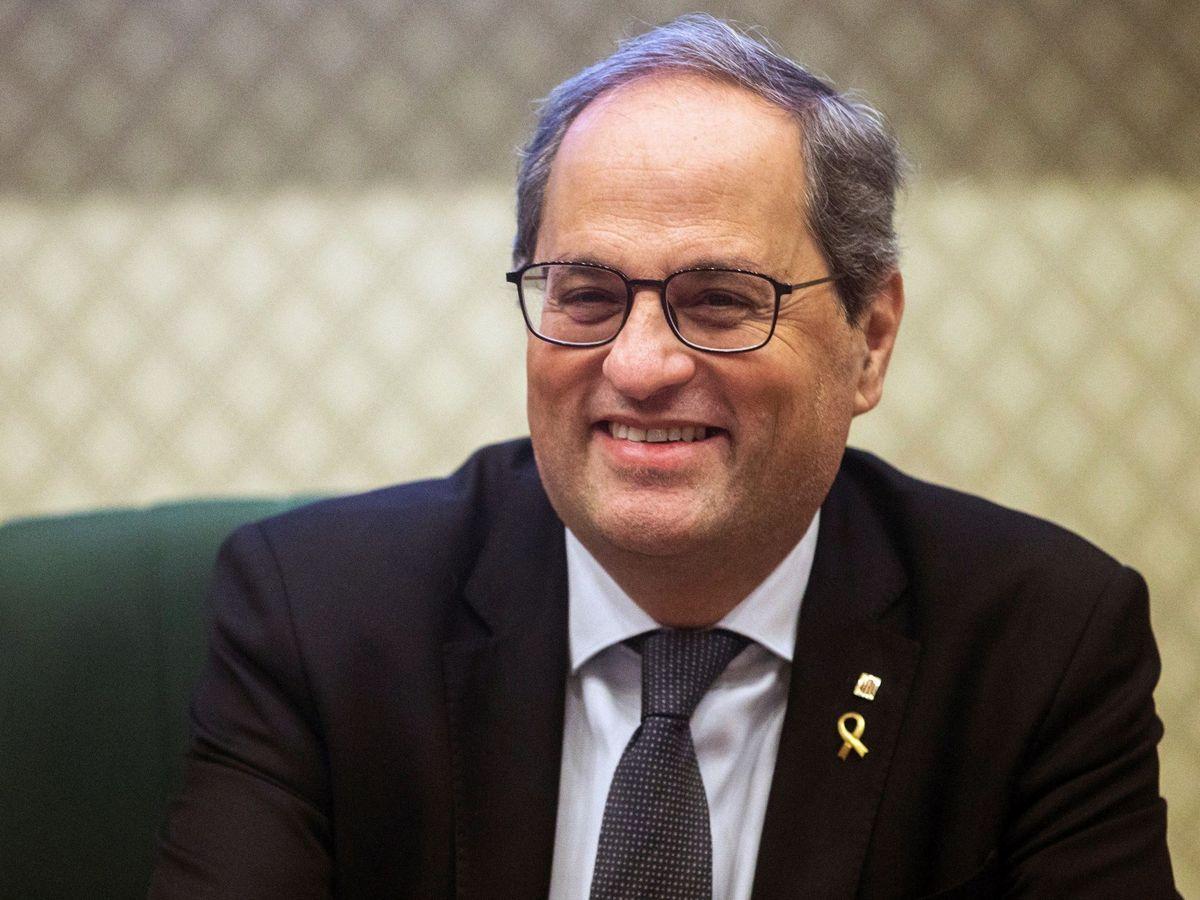 Foto: l presidente de la Generalitat de Cataluña, Quim Torra. (EFE)