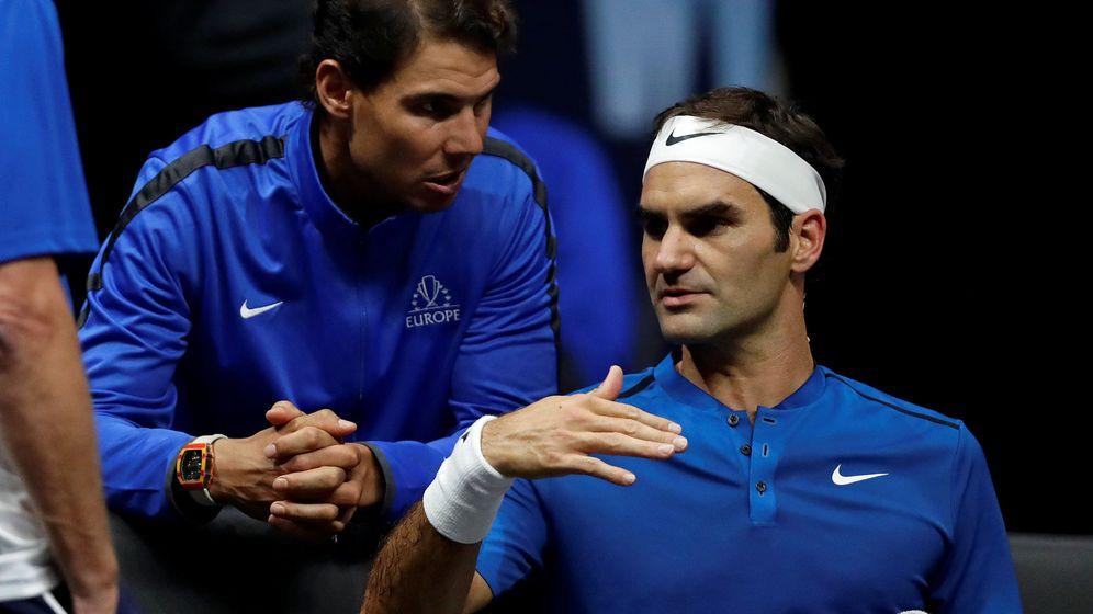Foto: Rafa Nadal y Roger Federer. (Reuters)