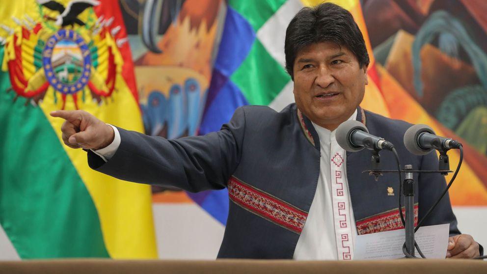 Morales se hace con la victoria en la primera vuelta entre denuncias de fraude en Bolivia