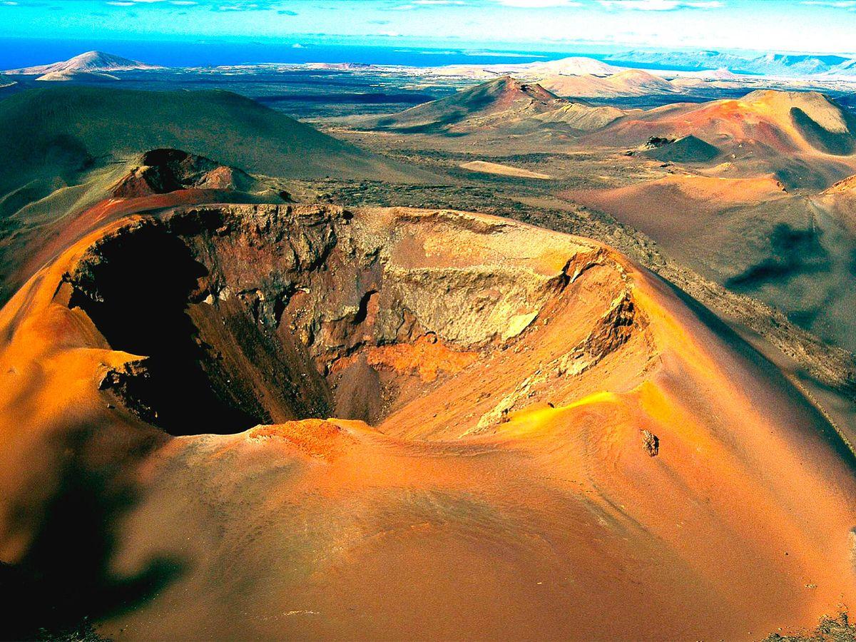 Foto: Parque nacional de Timanfaya. (iStock)