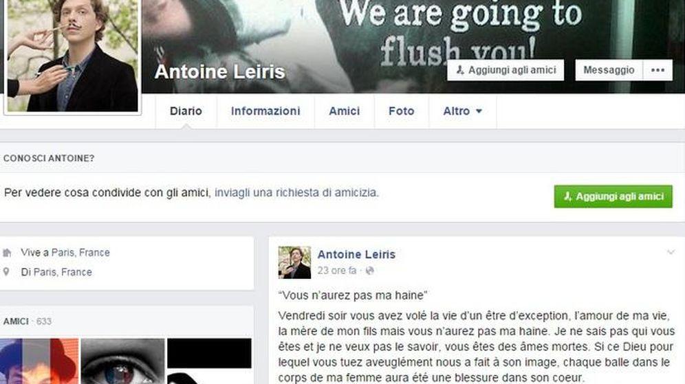 Foto: Antoine Leiris (Facebook)