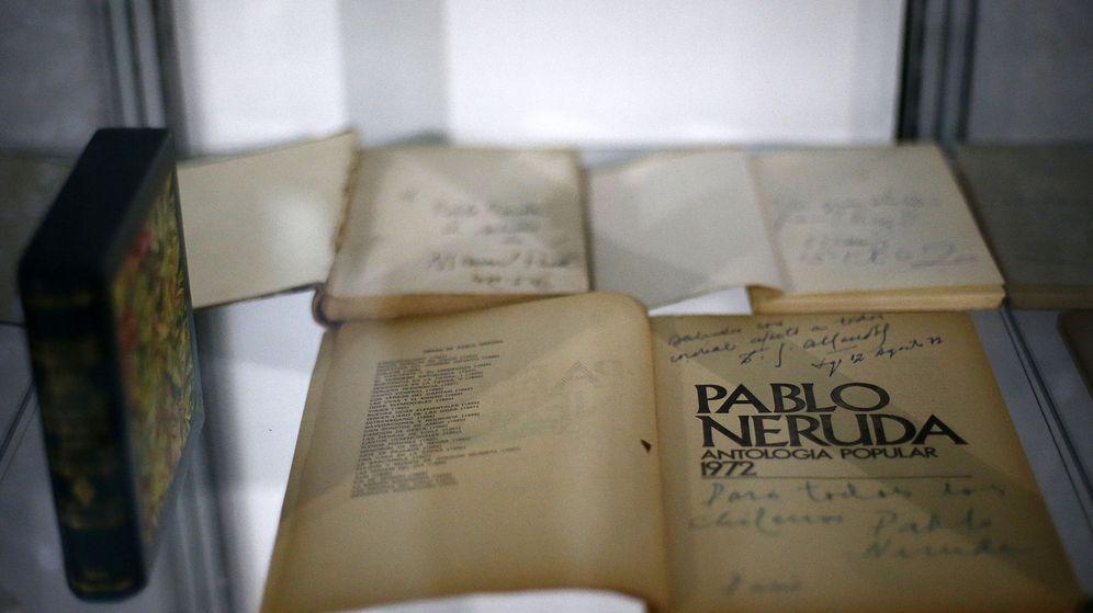 Foto: Neruda, 'Gabo' y Vargas Llosa en exposición que celebra los Nobel en español | EFE