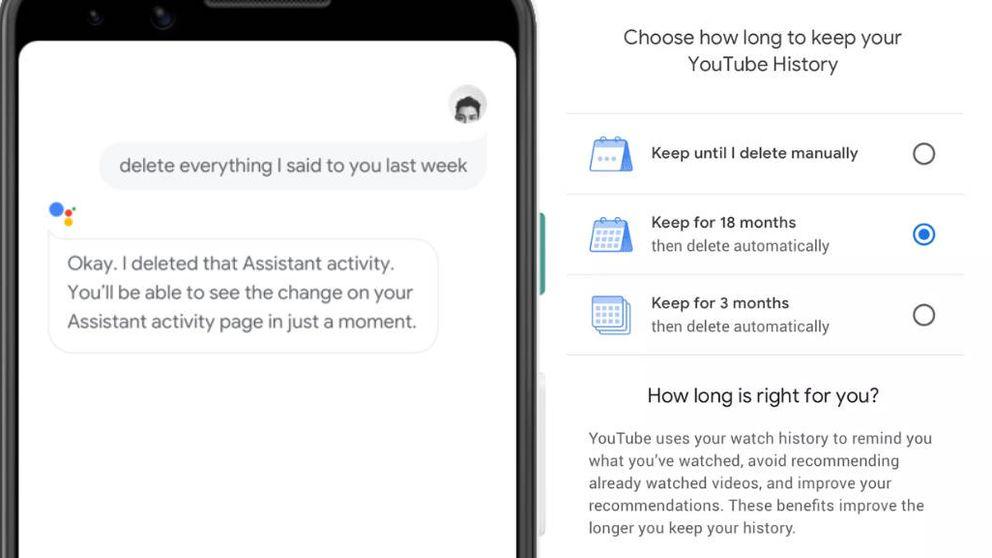 Google explica cómo tener más privacidad en 'apps' como Google Maps y YouTube