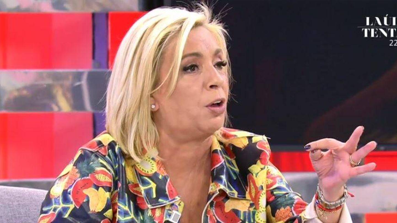 Carmen Borrego, colaboradora de 'Sálvame'. (Mediaset España)