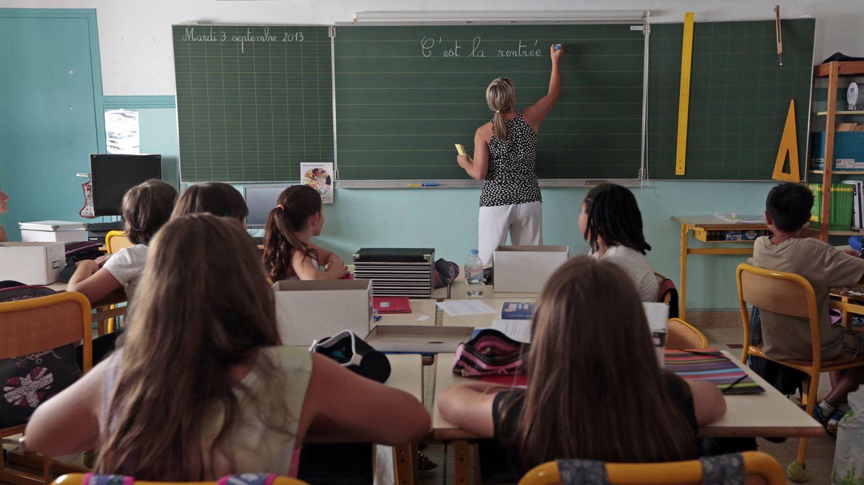 Foto: ¿Cómo es el día a día en un colegio francés? (Reuters/Eric Gaillard)