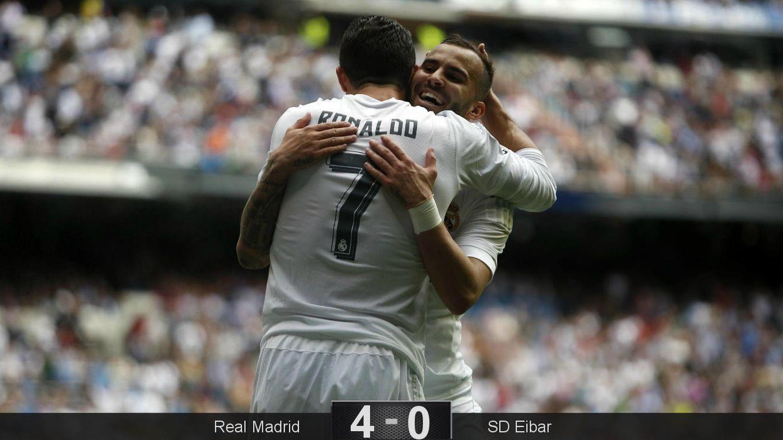Foto: Ronaldo asistió a Jesé en el 4-0 (Cordon Press).