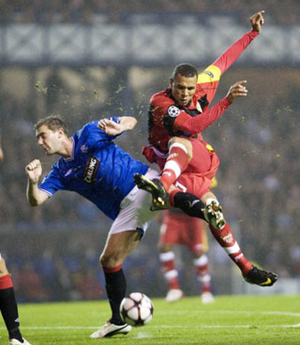 Foto: El Sevilla presenta en Europa sus credenciales para luchar por la Liga