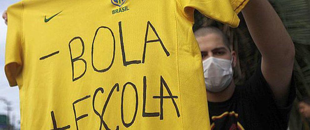 Foto: Del billete a las pancartas: así se explican las protestas en Brasil