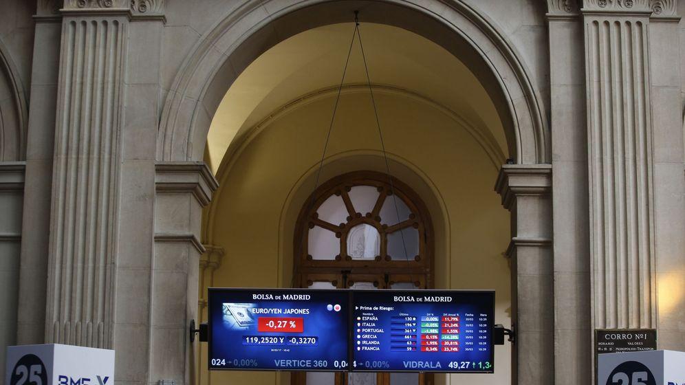 Foto: Imagen de la Bolsa de Madrid (Efe)