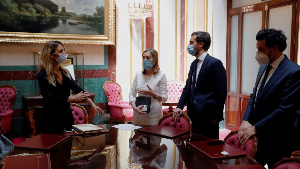Casado encarga a Pastor negociar con Illa su apoyo al decreto de nueva normalidad