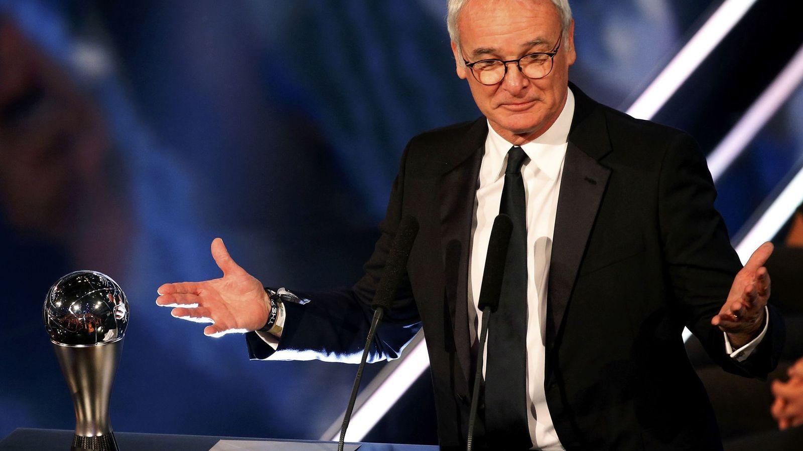Foto: Claudio Ranieri, mejor entrenador de 2016 para la FIFA. (REUTERS)