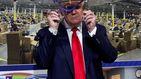 Trump convierte su visita a Ford en un mitin sin mascarilla: No os daré ese placer
