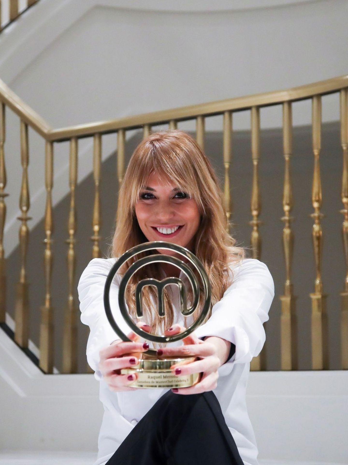Raquel Meroño, ganadora de la edición 2020 del 'Masterchef Celebrity'. (EFE)