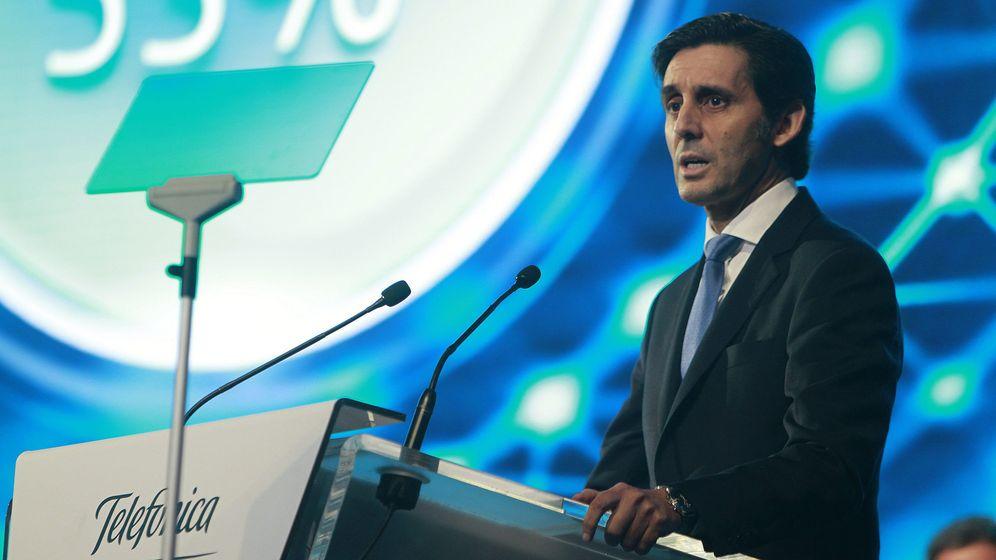 Foto: El presidente de Telefónica, José María Álvarez-Pallete