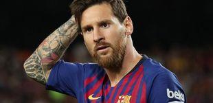 Post de Messi y su dardo: