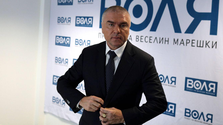 Foto: El empresario búlgaro Veselin Mareshki, fundador y líder del partido Volya (Voluntad). (Reuters)