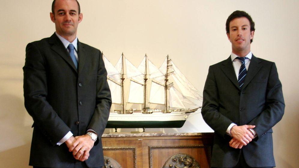 Foto: JJ Fernández y Marc Batllé, gestores de Elcano sicav.