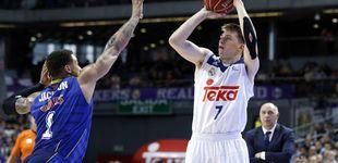 Post de Doncic no se deja intimidar por los ojeadores NBA y se luce contra el Estu