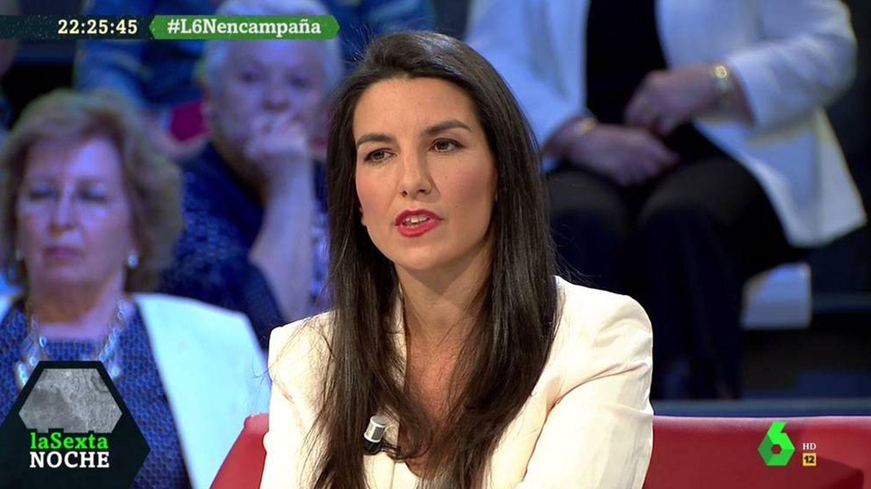 Rocío Monasterio, en el debate de 'La Sexta noche'. (Atresmedia).