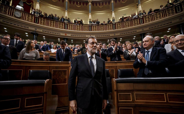 Foto: El presidente del Gobierno, Mariano Rajoy, en el Congreso de los Diputados. (Reuters)