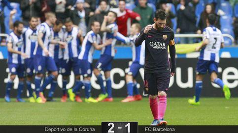 El Deportivo devuelve al Barcelona a la dura realidad de la Liga