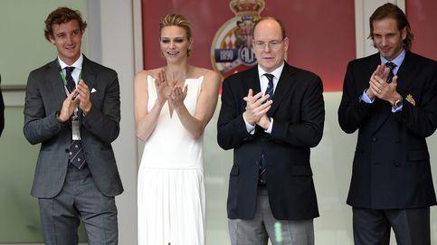 Los príncipes Alberto y Charlène de Mónaco, grandes anfitriones de la Fórmula 1