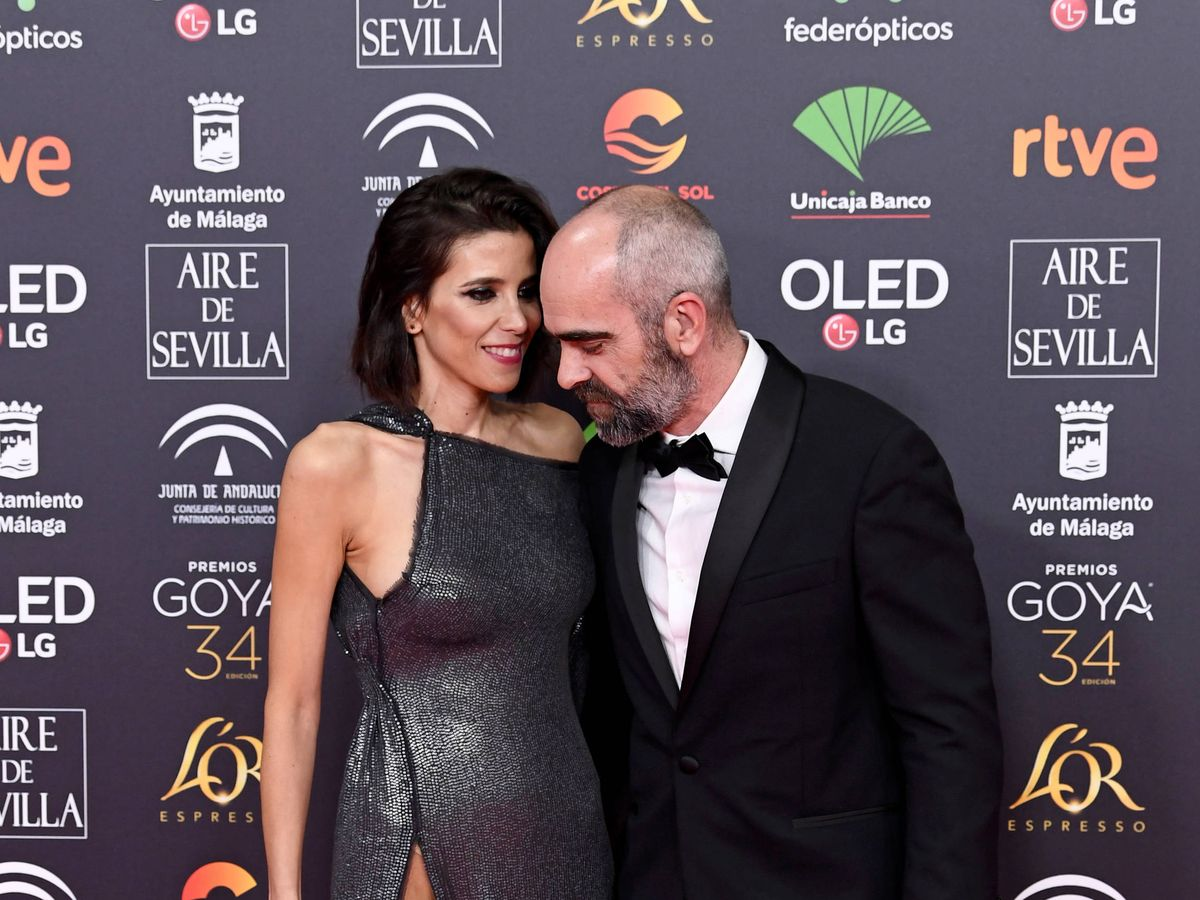 Foto: María Luisa Mayol y Luis Tosar en los Goya. (Getty)