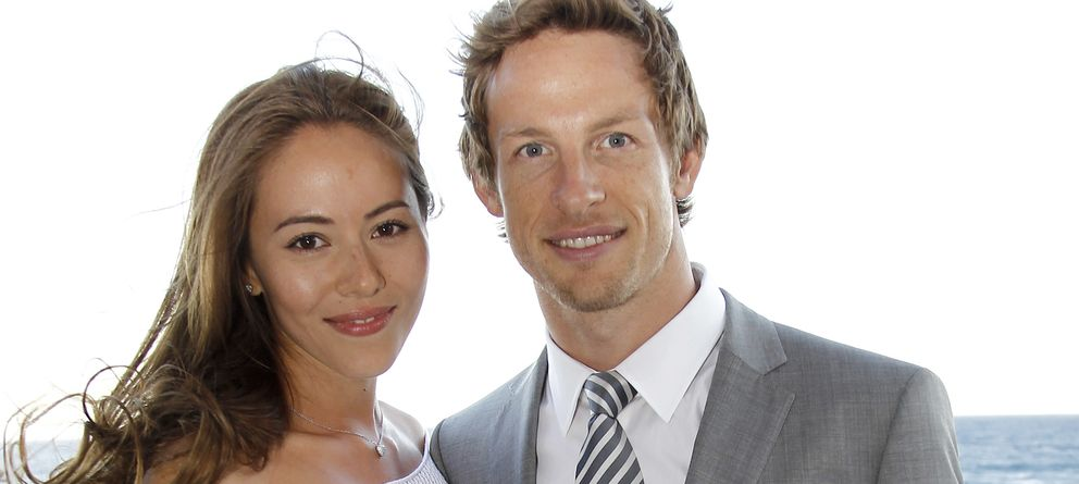 Foto: El piloto de Fórmula 1 Jenson Button y la modelo japonesa Jessica Michibata ya son marido y mujer (Gtres)