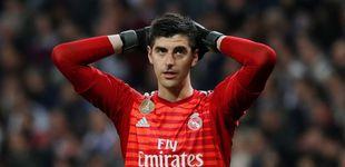 Post de Las extrañas molestias de Courtois para autodescartarse en el Real Madrid