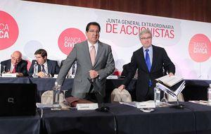 El informe de los peritos descarta irregularidades en Banca Cívica