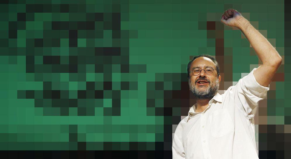 Foto: Antonio Baños, el 'showman' que se estampó contra Aznar