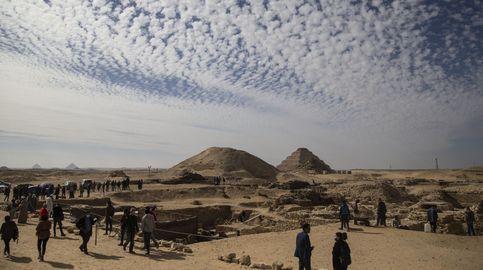 Un templo, 50 ataúdes y el Libro de los Muertos: el hallazgo único de Saqqara