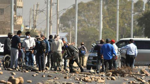 Manifestaciones contra la fecha de elecciones en Bolivia
