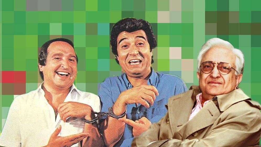 Foto: Fernando Esteso, Andrés Pajares y Mariano Ozores (EC)