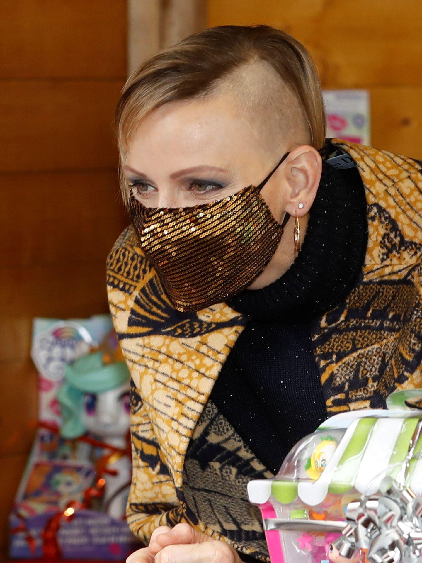 Charlène de Mónaco, con su radical cambio de look. (EFE)