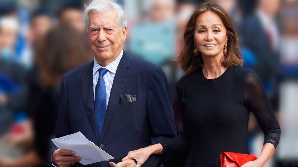 Foto: Mario Vargas Llosa e Isabel Preysler. (Getty)