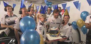 Post de McLaren, con Alonso nuevamente séptimo, amenaza con dar guerra