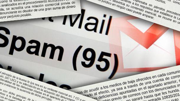 Foto:  Composición realizada a partir de varias de las frases de la resolución de la Agencia Española de Protección de Datos. (Montaje: Carmen Castellón)