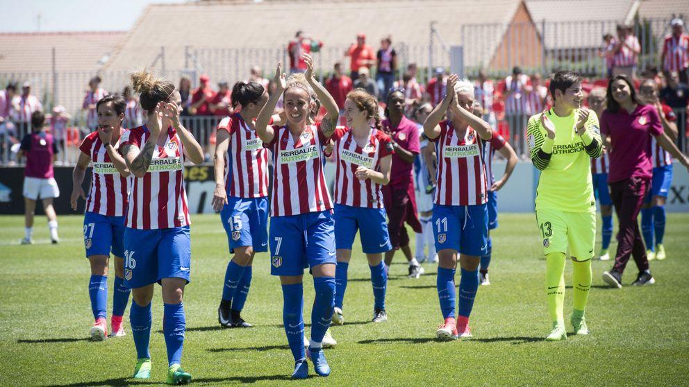 Las chicas del Atlético de Madrid hacen historia y ganan la Liga