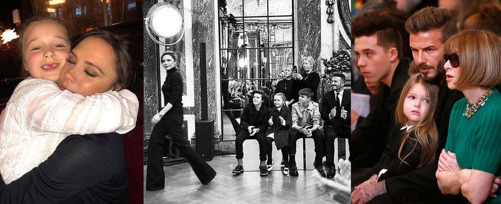 Foto: La familia Beckham no tiene miedo a Instagram. (Fotos: @victoriabeckham y Gtres)