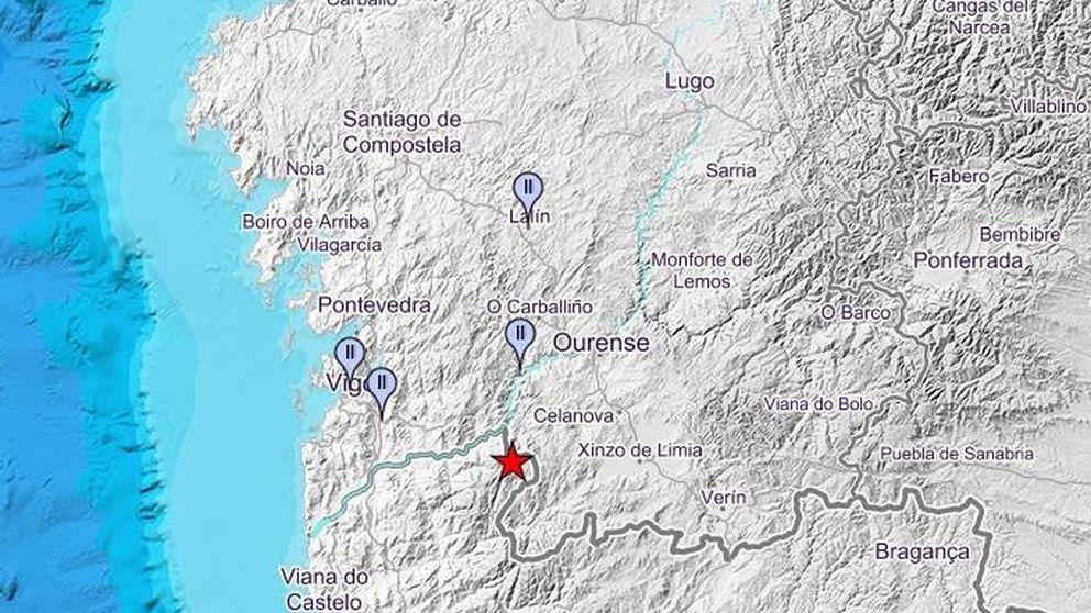 Registrado un ligero terremoto de magnitud 3.8 en la provincia de Pontevedra