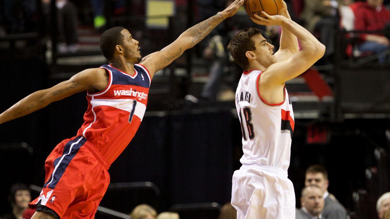 Foto: Claver jugó 82 partidos en dos temporadas y media en la NBA (Reuters)