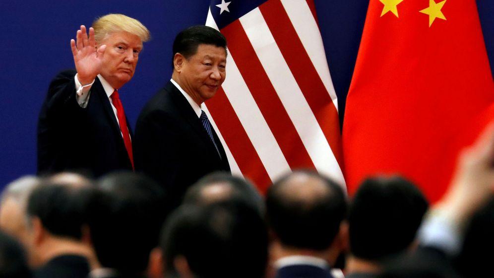 Foto: Una foto de archivo del presidente de EEUU y el presidente de China. (Reuters)