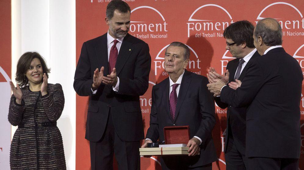 Foto: Javier Godó (c), presidente del Grupo Godó, en una imagen de archivo. (EFE)