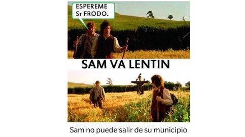 Sam Va Lentín no falla ni en pandemia: el chiste más mítico (y malo) del día del amor