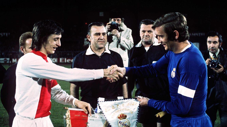 Bernabéu tuvo apalabrado a Cruyff, pero no iba a gastarse los millones que no tenía