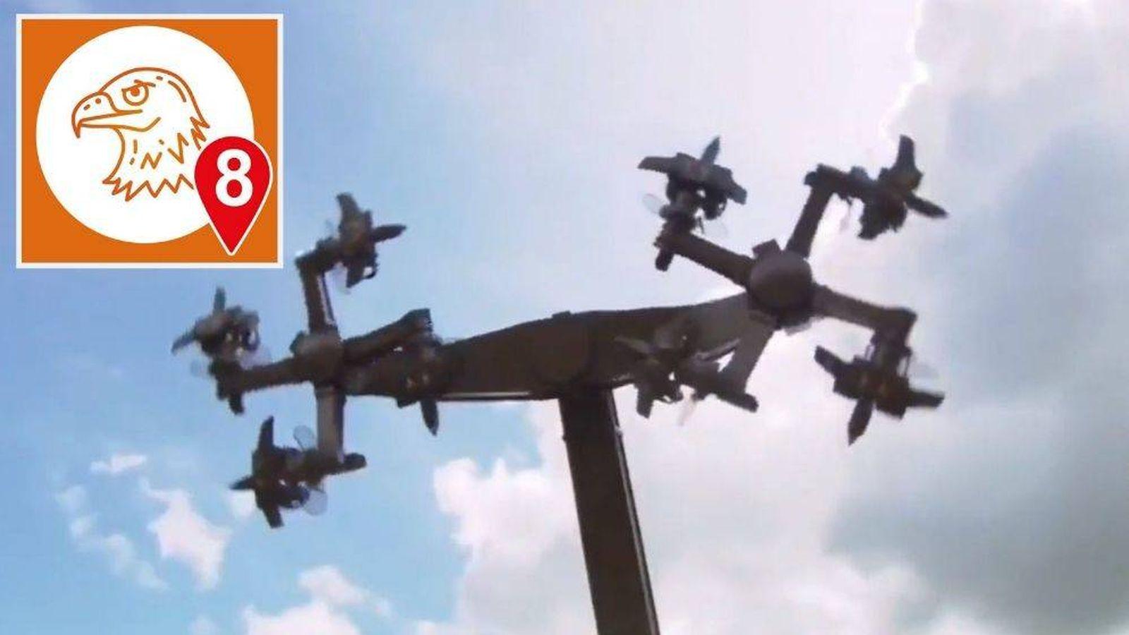 Foto: 'Eagle Fly' es el nombre de la atracción que el parque de Tatzmania, en Löffingen (suroeste de Alemania) se ha visto obligada a cerrar
