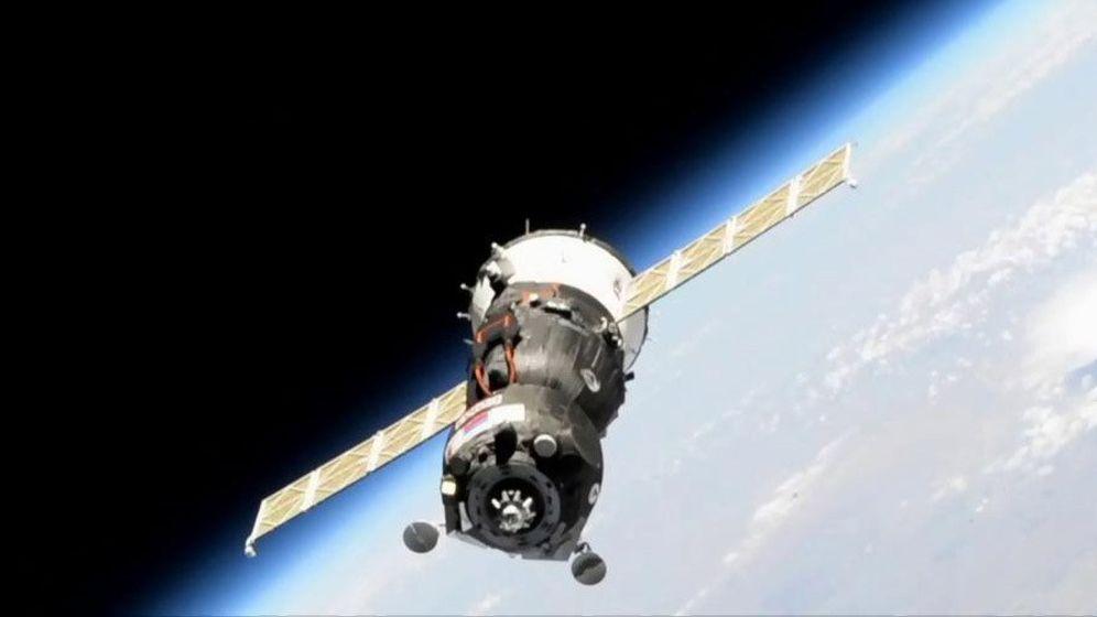 Foto: La nave rusa Soyuz. (EFE)