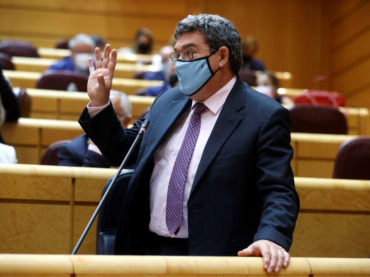 Foto: El ministro de Inclusión y Seguridad Social, José Luis Escrivá. (EFE)