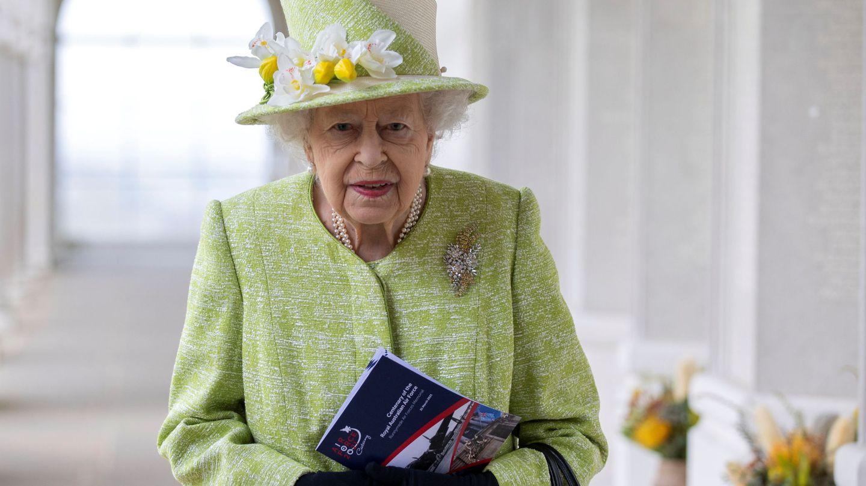 Una de las últimas apariciones de la reina. (Reuters)